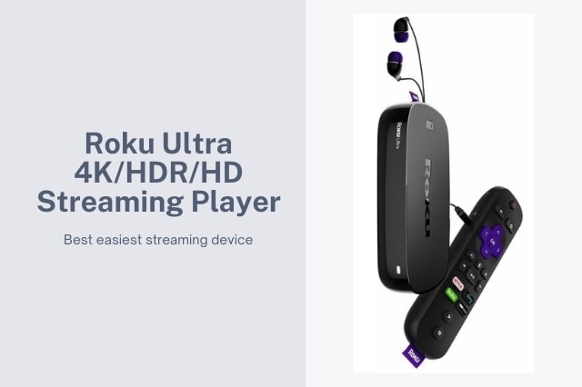 Roku Ultra 4K/HDR/HD Streaming Player