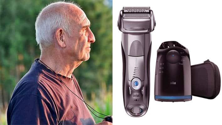 Best electric razor for Parkinson's patients